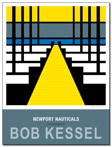 newport nauticals poster by bobkessel