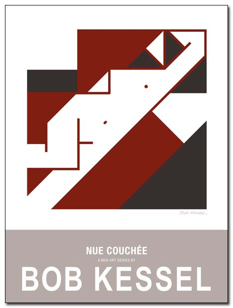 nue couchee poster by bobkessel