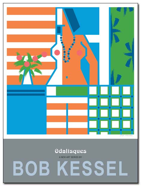 odalisque poster by bobkessel