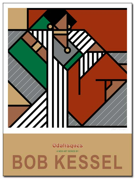 odalisques poster by bobkessel