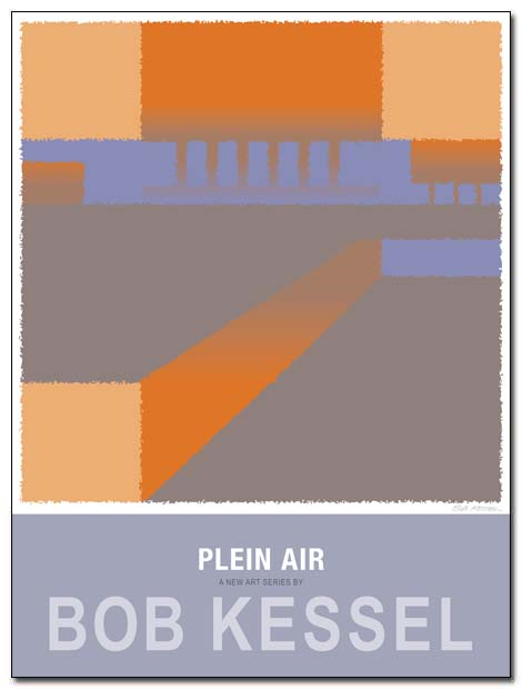 plein air poster (Copse) by bobkessel