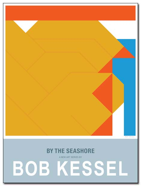 by the seashore poster coastline by bobkessel
