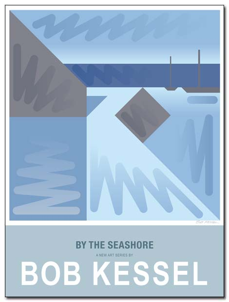 by the seashore poster shore road winter by bobkessel