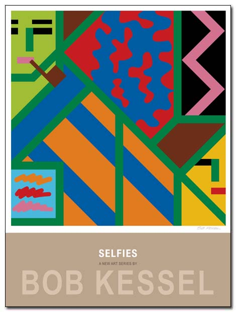 selfies poster by bobkessel