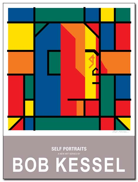 self portraits poster by bobkessel