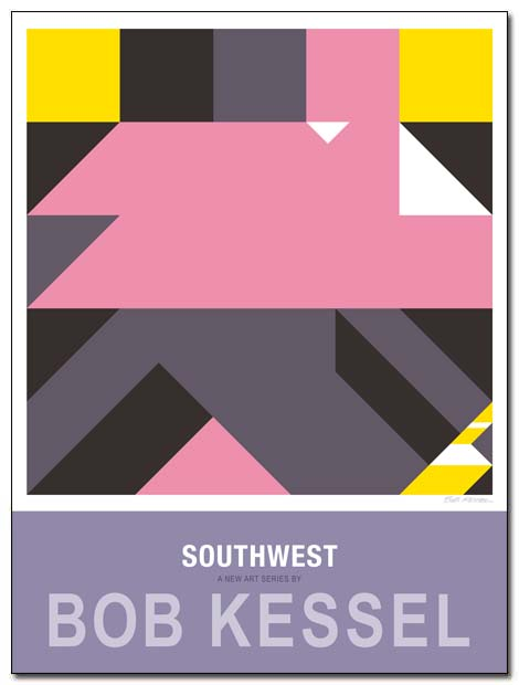 southwest poster by bobkessel