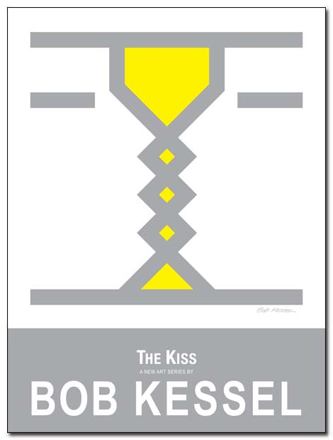 the kiss poster by bobkessel