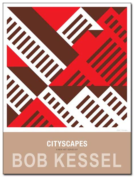 cityscapes poster skyline by bobkessel