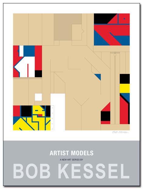 artist models poster studio by bobkessel