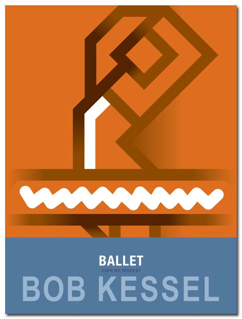ballet poster pirouette by bobkessel