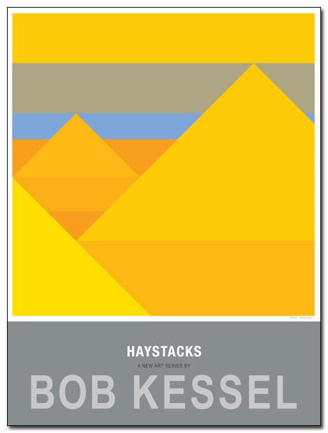 haystcks poster two by bobkessel