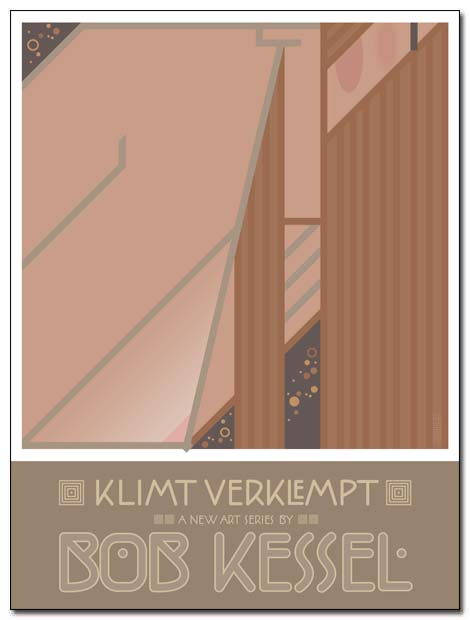 klimt verklempt poster tit for tat by bobkessel