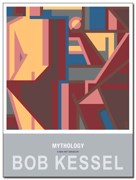 mythology poster (judgement of paris) by bobkessel