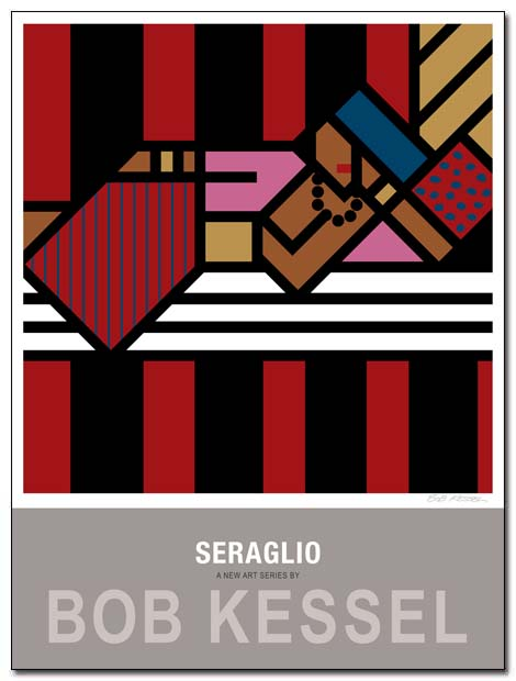 seraglio poster (Couverture rouge) by bobkessel