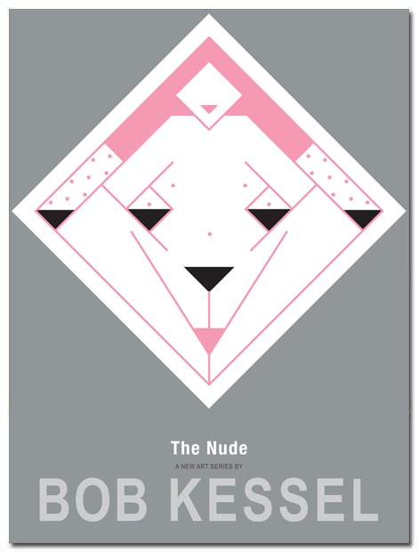 the nude poster pink lady by bobkessel