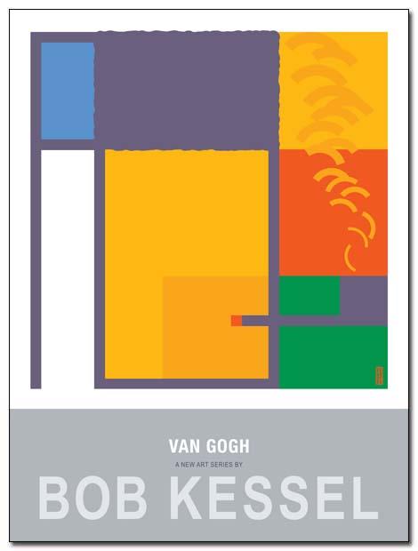 van gogh poster pipe by bobkessel