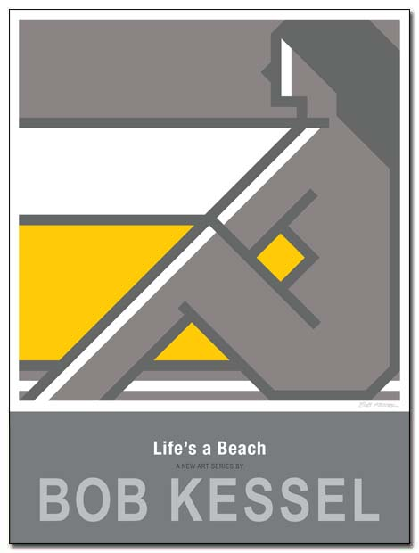 lifes a beach poster profile by bobkessel