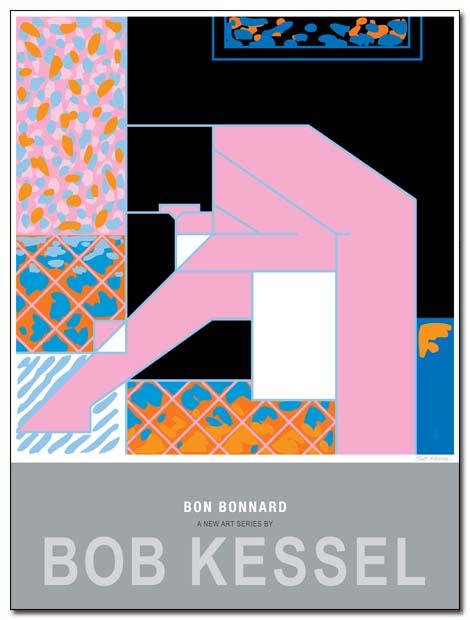 bonnard poster femme penchée by bobkessel