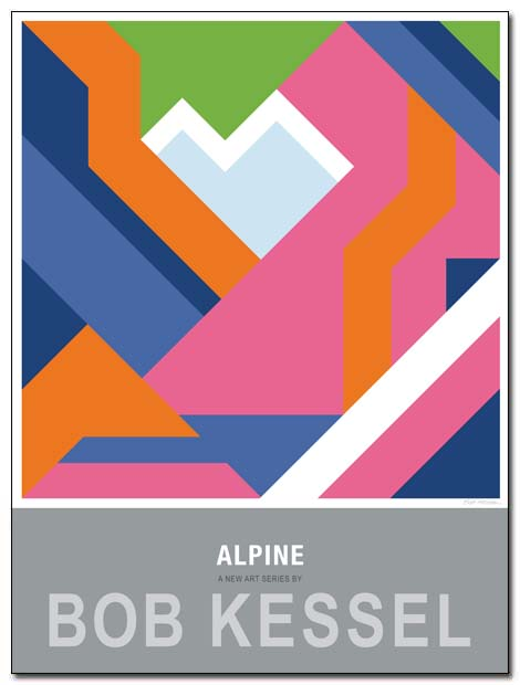 alpine poster amselfluh by bobkessel