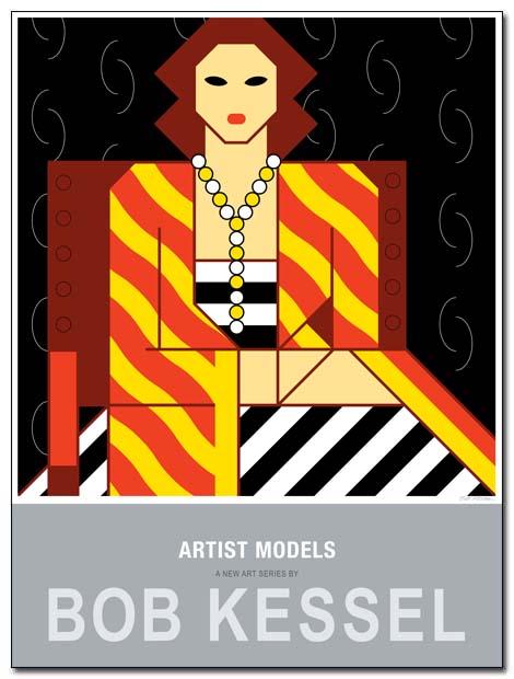 artist models poster by bobkessel