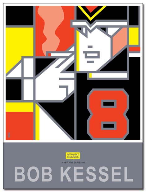 ARTWORKS ASSEMBLE POSTER 8thman by bobkessel