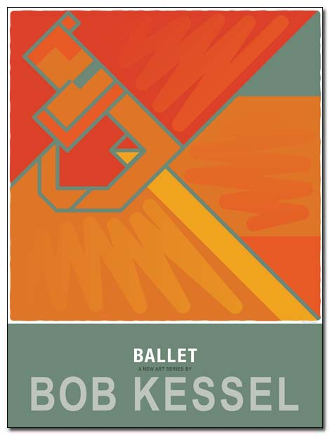 ballet poster curtain by bobkessel