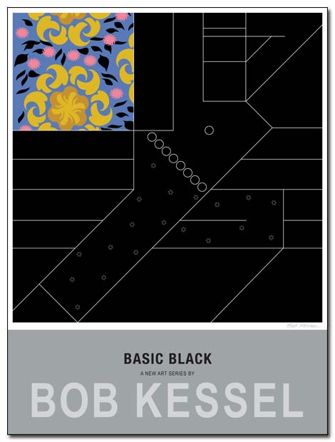 basic black poster oda by bobkessel