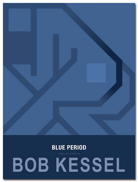 BLUE PERIOD POSTER (Asleep) by bobkessel