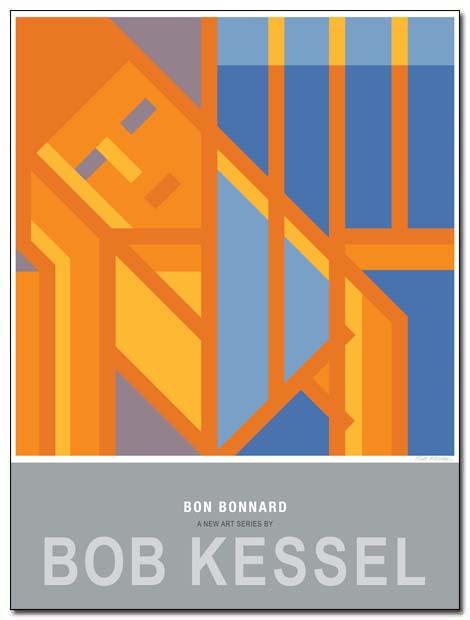 BON BONNARD POSTER (Conversation) by bobkessel