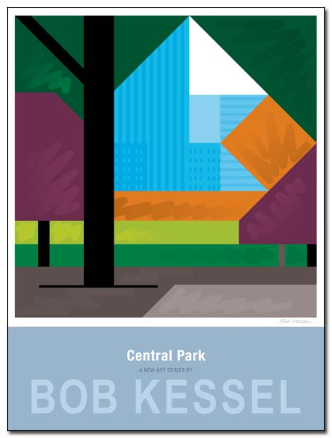 CENTRAL PARK POSTER by bobkessel