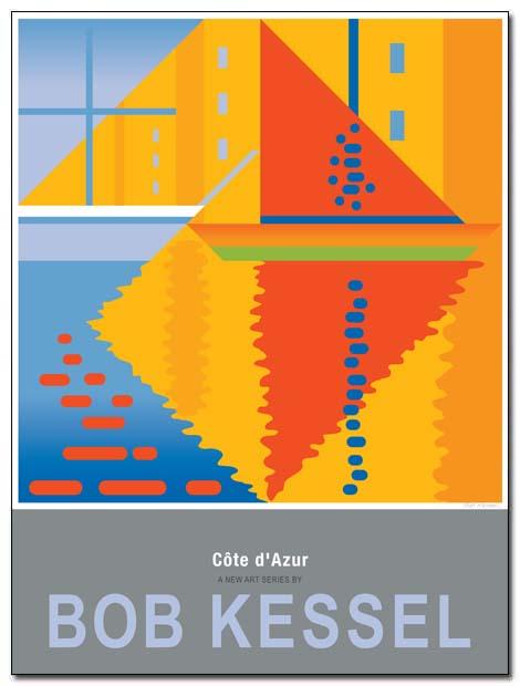 cote d'azur poster cavaler by bobkessel