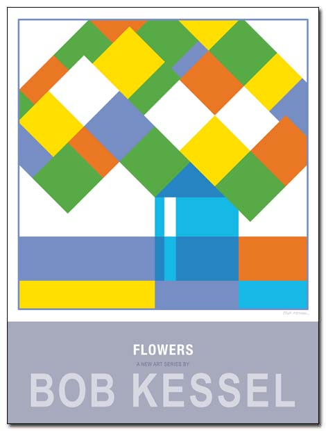 flowers poster jar by bobkessel