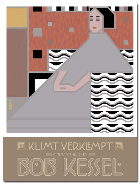 klimt verklempt poster sit by bobkessel