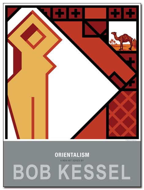 orientalism poster slave by bobkessel