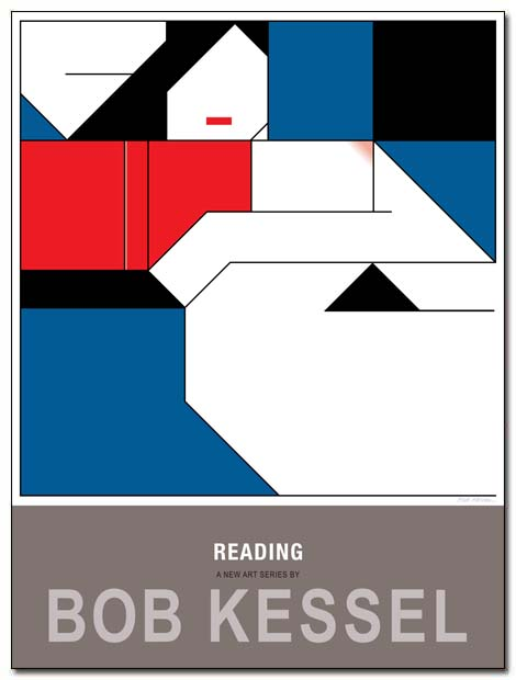 reading poster red book by bobkessel