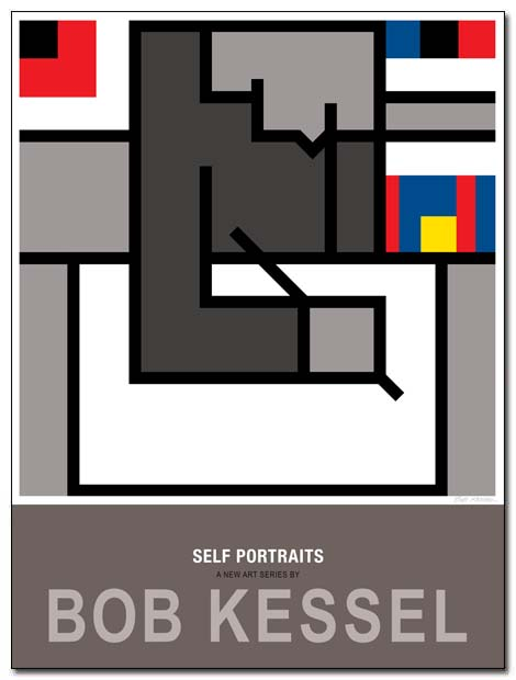 self portraits poster blank page by bobkessel