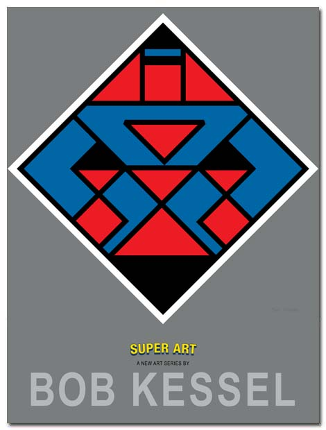 super art poster shorts by bobkessel