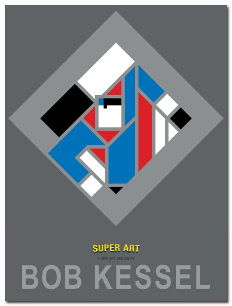 super art poster soar by bobkessel