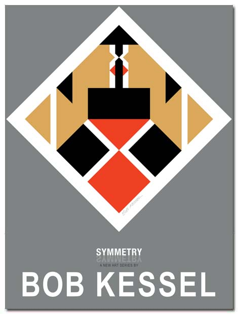 symmetry poster by bobkessel