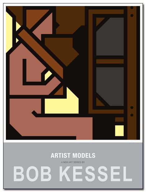 artist models poster braiding by bobkessel