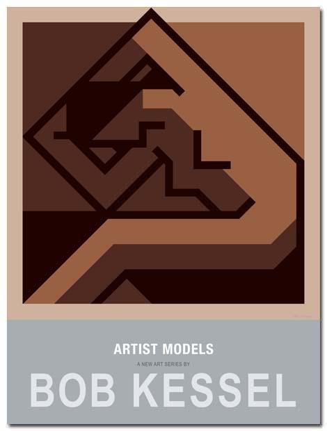 artist models poster femme new by bobkessel