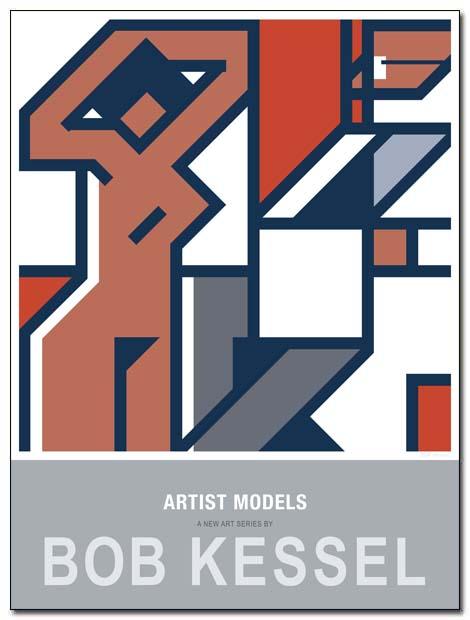 artist models poster matisse studio by bobkessel