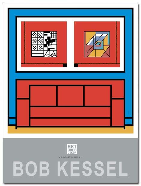 art over decor poster sofa by bobkessel