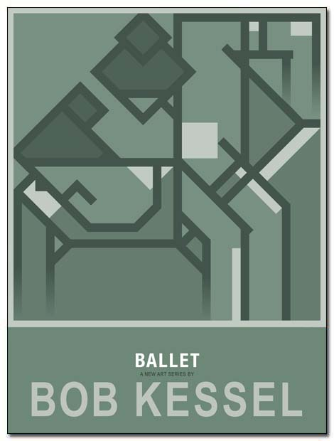 ballet poster two ballerinas by bobkessel