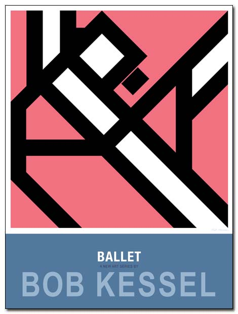 ballet poster arabesque by bobkessel