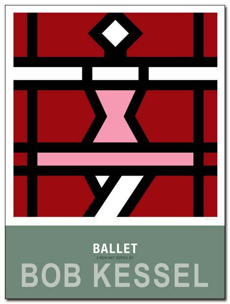 ballet poster Quatrieme by bobkessel