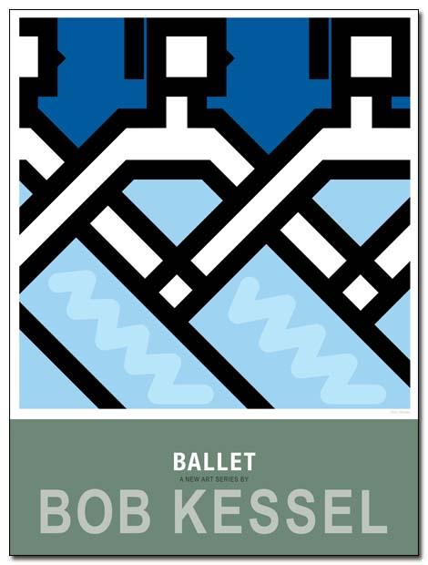 ballet poster swan lake by bobkessel