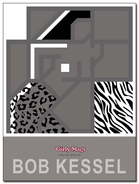 girly mags poster capris by bobkessel
