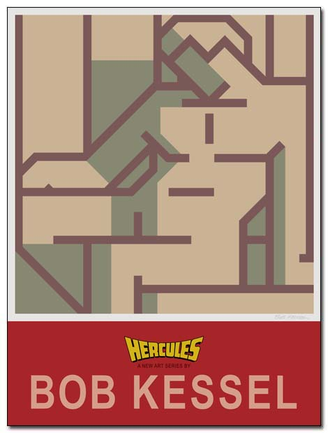 hercules poster seated by bobkessel