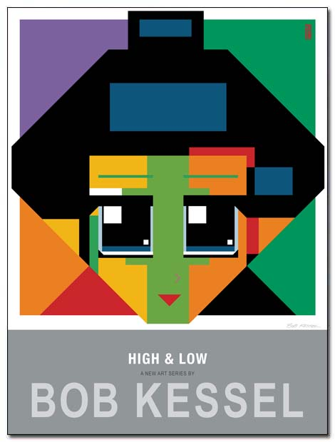 high and low poster la raie verse by bobkessel